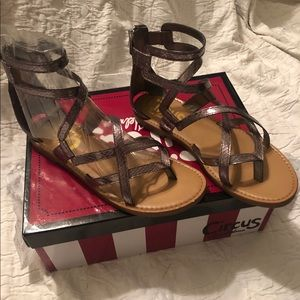 Circus by Sam Edelman Bevin, Pewter Sandals NWT